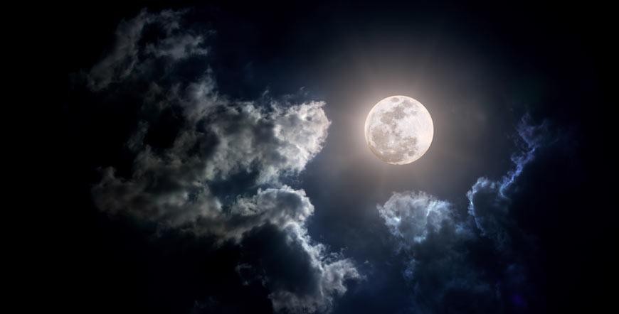 Les transits de la lune