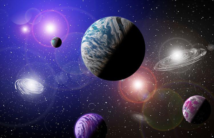 Découvrez votre énergie universelle de vie en choisissant la planète qui vous attire le plus